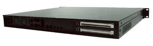 7677 1U Rackmount Series Internal Structure and Rear Side Panel
