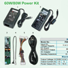 60W Power Kit No. PDB060R